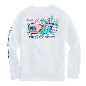 Vineyard Vines | Ski Bro Whale Long-Sleeve Pocket